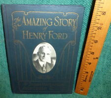 RARE 1922 SALESMAN SAMPLE BOOK- THE AMAZING STORY OF HENRY FORD by JAMES MILLER