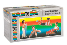 CanDo Low Powder Exercise Band-6 yard roll-Silver-xx-heavy-1211420 10-5216 NEW