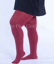 Pure Plus Size Extra Large 90 Denier Tights 10 Colours UK 20-36 XL XXL XXXL NEW