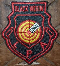 "USAF / Air Force (?)  Weapons School Patch: BLACK WIDOW: ""PUNK"" on TARGET"