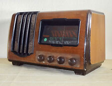 VINTAGE 1943 RADIO CENTRUM W 71 * TUBE RADIO * STOCKHOLM SWEDEN *