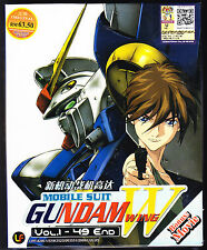 MOBILE SUIT GUNDAM WING W *49 EPS+*ENG SUBS*ANIME DVD*US SELLER*FREE SHIPPING*