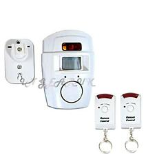 Boat Security Wireless Motion Sensor Alarm Infra Red Battery Operated Remote