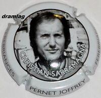 Capsule de Champagne :Super !!! Pernet Joffrey ,Christian Sarramagna , non réf !