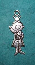 Pendant King Charm Prince Charm Crown Charm Royalty Charm Heir to the Throne