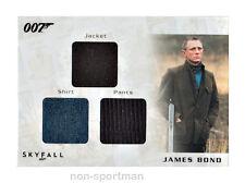JAMES BOND 2013 AUTOGRAPHS & RELICS COSTUME STC6 DANIEL CRAIG 133/200