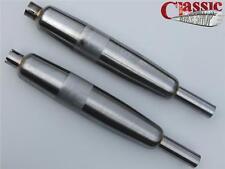 Bsa A65 Firebird Bare Metal Silenciadores