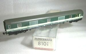 FLEISCHMANN 8101 N PICCOLO DB BAGGAGE CAR Düms 905 BOXED Pop Green FLM Era IV