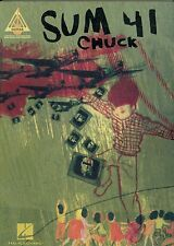 Sum 41 Chuck 2005 recorded versions for guitar tab sheet music songbook