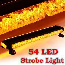 "26.5"" Amber 54W LED Traffic Advisor Double Side Emergency Flash Strobe Light Bar"