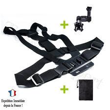 HARNAIS de POITRINE - Accessoires Adaptateur pour GOPRO HERO 1 2 3 3+ 4 Camera
