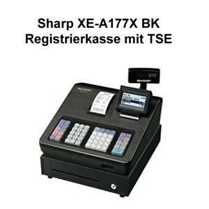 SHARP Registrierkasse XE-A177X-BK, schwarz mit TSE Kasse Ladenkasse Neu