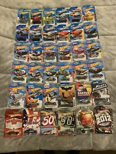 Lot Of 36 Various Hot Wheels Mainlines And Specials: 2009-2018; Delorean, Etc.