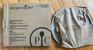 Pampered Chef Personal Size Round Stone #1387 BRAND NEW IN BOX