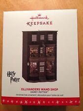 2016 Hallmark Keepsake Ornament Ollivander's Wand Shop - Harry Potter