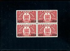 LOT 83905 MINT NH E9  BLOCK SPECIAL DELIVERY STAMPS : CANADA