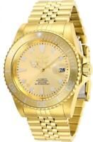 Invicta 30096 Pro Diver 42MM Men's Automatic Gold-Tone Stainless Steel Watch