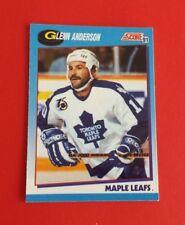 1991/92 Score Hockey Glenn Anderson Card #611***Toronto Maple Leafs***