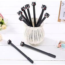 3PCS Cute Bear 0.38mm Ultra Thin Needle Fountain Black Pen Student Stationery