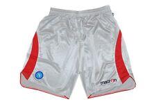 macron SSC Napoli Sportswear Shorts Sporthose Hose Gr. XXL silber NEU