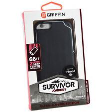Griffin Survivor Journey Case for iPhone 6 Plus 6s Black Deep Grey