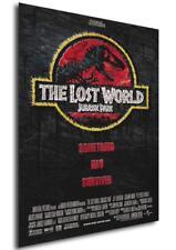 Poster Locandina - Il Mondo perduto - Jurassic Park (1997) - Formato (42x30 cm)