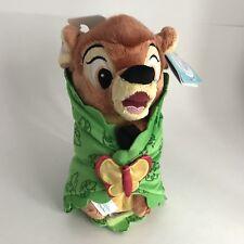 "Disney Parks Store Bambi Baby in Blanket Deer Thumper Babies Plush Stuffed 10"""