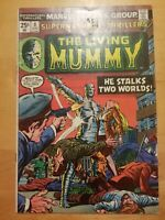 Marvel SUPERNATURAL THRILLERS #8 (1974) The Living Mummy