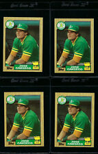 "LOT OF 5 - 1987 TOPPS ""TIFFANY"" ** JOSE CANSECO **  #620 - NEAR MINT - ROOKIE!"