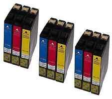 9x DruckerPatrone Tinte für EPSON STYLUS BX305F BX305FW SX125 SX420W SX130 SX425