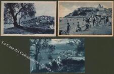 Liguria. Imperia. Tre cartoline viaggiate tra il 1927 e il 1934.