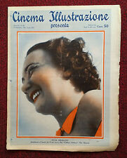 Cinema Illustrazione 1936 XI n° 40 Elsa Merlini       23/12