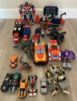 Large Mixed Lot of Transformers Figures & Components