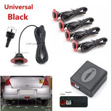4Pcs Universal Car Parking Adjustable 16mm Flat Sensors Reverse Backup Radar Kit