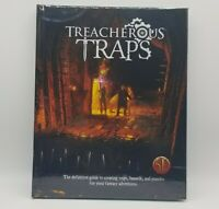 Treacherous Traps a Dungeons & Dragons 5e Supplement NordGames Hard Cover