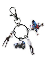 **Legit** Persona 5 Metal Keychain Makoto Yusuke Johanna & Goemon Group #48031