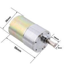 High Torque 12V DC 30 RPM Gear-Box Electric Motor Replacement 5000r/min