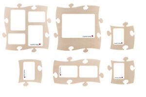 6 PUZZLES+ Rahmen * Set * Puzzle Bilderrahmen  * Country Living *  natur