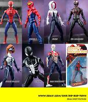6'' Spider-man 7 styles Action Figure Marvel Legends 2099 Agent Venom Gwen Stacy