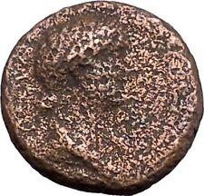 LIVIA wife Augustus Rare 26AD AUGUSTA in CILICIA Tyche Ancient Roman Coin i48161