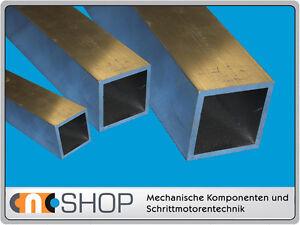 Aluminium Vierkantrohr Quadratrohr Aluprofil