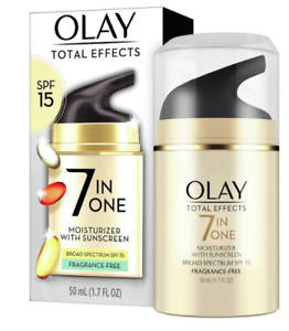 OLAY Total Effect 7 in One Moisturizer w/ Sunscreen SPF 15 1.7oz Exp. 6/21