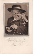 EMIL POLLERT Opera bass signed presentation photo as Kecal in the Bartered Bride