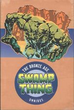 SWAMP THING THE BRONZE AGE OMNIBUS HC DC HARDCOVER SEALED