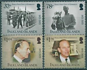FALKLAND ISLANDS  2021, PRINCE PHILIP, DUKE OF EDINBURGH, 1921-2021, 4v., MNH