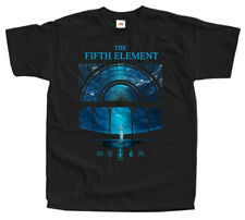 The Fifth Element T SHIRT Movie Poster V5 BLACK TEE all sizes