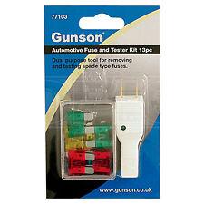 Gunson Auto Fuse and Tester Kit 13pc