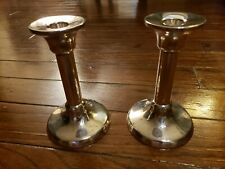 Tiffany &Co. Sterling Silver Candle Holders