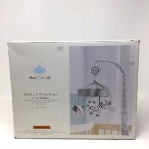 Cloud Island Musical & White Noise Crib Mobile 0-5 Months