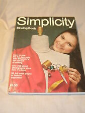 Simplicity Sewing Book - 1969 Nice Condition